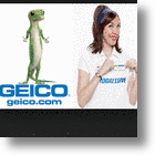 Online Car Insurance's Mascots Flo & The Gecko Are Social Media SuperStars