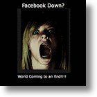 The Day That Facebook Went Down - A Breaking News 'Chicken Little' Story! [UPDATE: It's Baaaccck!!!]