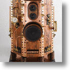 Add Some (Expensive) Class To Your Office With Empire Steampunk Speakers