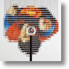 Strung Out: Unbelievable Thread Spool Mosaics
