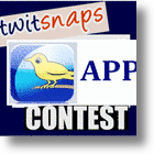 Twitsnaps APP Contest Awards $20 To First 100 Users