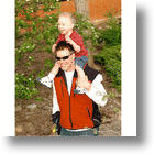 Diaper Vest Wearable Diaper Bag Keeps Dads' Hands Free