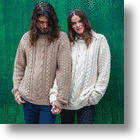 Recycled-Cotton Aran Sweaters: Vegan Style and Animal-Friendly