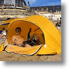 Wave Cave: Surfboard Bag And Sun Tent All In One