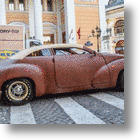Russian Leather-Covered Car Lacks Taste, Offends Vision