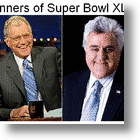 WhoDat Won The Superbowl? Letterman & Leno!
