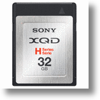 Sony Announces First XQD Memory Cards