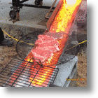 "Want Grilling To Be Even More Of A ""Guy Thing?"" Use Lava!"
