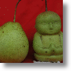 More Chinese Farmer Innovations: Baby Buddha Pears!