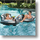 Bring the Water Park Home With the Motorized Bumper Boat