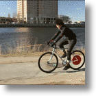 Smart & Eco-Friendly Copenhagen Wheel Gives Bike Riders A Boost