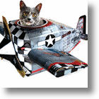 """For Cats Who Want To Serve Their Country There's The """"Cat Playhouse"""""""