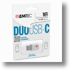 Emtec DUO Flash Drives Mix USB Type-C, Type-A Connectors