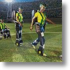 What If The 2014 World Cup Is Kicked-Off By Someone Using An Exoskeleton?