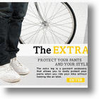 Stroke's Extra Leg: Leg Warmers Designed To Protect Your Pants