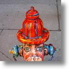 Put Out The Fire With Fire Hydrant Art