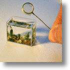 Russian Micro Miniaturist Creates World's Smallest Aquarium With Fish!