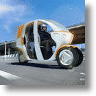 Fluidi Cab Concept Scoots Toward The Future Of Urban Commuting