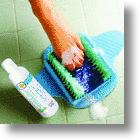 Hands-Free Wash, Exfoliate, & Massage Your Feet With The FootMate® Shower System