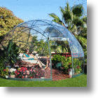 Enjoy The Outdoors Anytime When You're In Garden Igloo 360