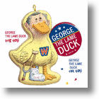Lame Duck George For Cats And Dogs!