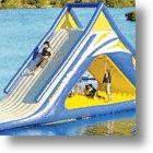 Gigantic Water Play Slide: Take a Ride on this Slide!
