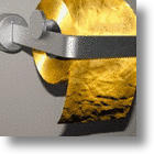 Need This New Invention? Gold Toilet Paper
