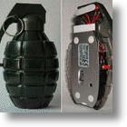 The Hand Grenade Mouse: Bombs A-W-A-A-A-Y!