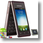 Samsung Hennessy: Android and Quad-Core CPU in The Body of a Flip-Phone