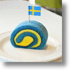 IKEA Japan's Swedish Flag Roll Cake Gives You The Blues