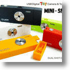 Mini Snap Dual-Mode USB Digital Camera Takes A Licking, Keeps On Clicking