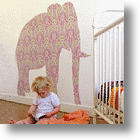 Romping Around a Room with Creative Wall Space