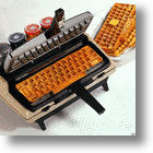 Waffles By Corona-Matic: Don't Discard That Old Corona Typewriter!