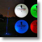 Play Golf Into The Night With Night Sports Light-Up LED Golf Balls