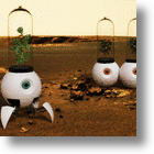 Wall-E's Girl-friend's Cousin, Le Petit Prince, a Robotic Garden For Mars