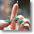 Manicured Lawns On Manicured Nails: A New Kind Of Nail Art