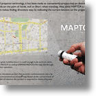 MAPTOR: Map Meets Pico Projector