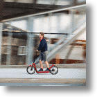 MINI Citysurfer: A Collapsable Urban Electric Scooter