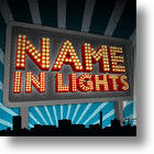 Creative Way To Write Your Way To Your Name in Lights