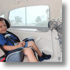 The Noggle Lets Kids Enjoy The AC From The Back Seat