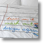 Doodle Duvet Gives Kids A Chance To Draw On The Bed