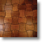 Enigma: Puzzling Wooden Floor Design By Jamie Beckwith
