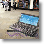 3D Pavement Art - It just looks so real....