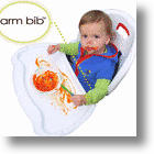 Arm Bibs Make Cleanup a Breeze