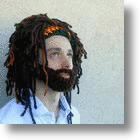 Ya Mon! Cool Rasta Hat With Beard The Perfect Fashion For The Slopes This Winter