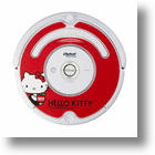 Hello Kitty Roomba Robot Sucks Up Dirt, Money