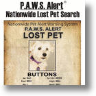 Pawtags® PAWS Alert System® Provides More Ways To Find Lost Pets