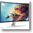 "Samsung Announces Curved 27"" HD Monitor"