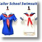Japanese Sailor School Swimsuit Adds Class To Any Beach