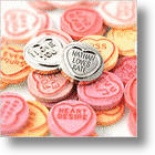Sweethearts, British Style: Love Hearts Go Gold And Silver!